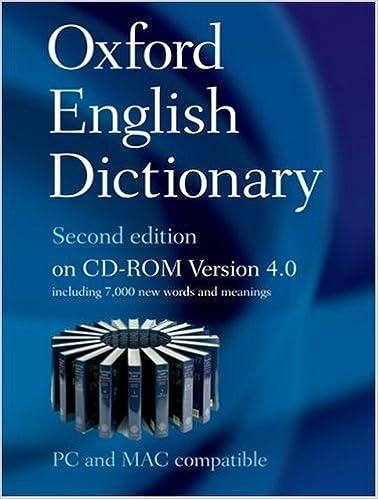 Oxford English Dictonary 2nd Edition (v1.14) setup free