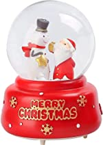 Noetoy Christmas Snow Globes - 80 MM Automatic Snow Drift with