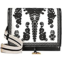 Deals on Tory Burch Farrah Embroidered Shoulder Bag