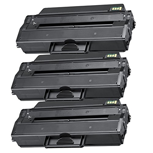 3 Inktoneram® Replacement toner cartridges for Samsung D103L replacement for Samsung MLT-D103L Toner Cartridge SCX-4728FD SCX-4728FD/GOV SCX-4729FW SCX-4729FD ML-2951ND ML-2951D/GOV ML-2950D ML-2950ND ML-2950ND/GOV ML-2955ND ML-2955DW