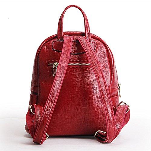 Sac Fashion Cuir Femme Dissa Lf À Main Dos Rouge En 15825 Portés OqpX0HE