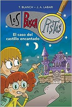 Book's Cover of El caso del castillo encantado (Serie Los BuscaPistas 1) (Español) Tapa blanda – 16 julio 2020