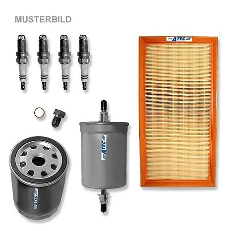 Paquete para inspección: 1x Filtro de aceite 1x Filtro de ...