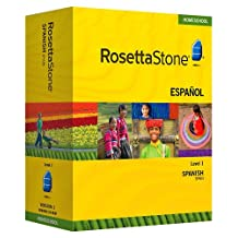 Rosetta Stone Homeschool Spanish (Spain) Level 1 including Audio Companion