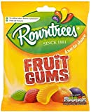 12 X ROWNTREES FRUIT GUM BAG £1 120g | 12 PACK BUNDLE