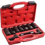 Cartman Automotive Oxygen Sensor Socket Set 10PC Socket Set