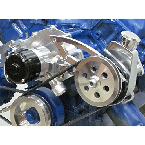 (Ford 429 460 Big Block Power Steering Bracket - Electric Water Pump)