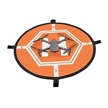 OTraki Drone Landing Pad 80cm - Pista Aterrizaje 2 Colores Fast ...