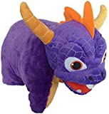 Skylanders 100 Percent Polyester Spyro Charcter Pillow, Purple