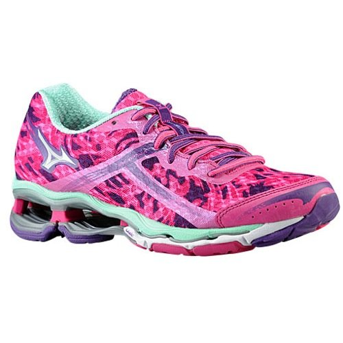 Mizuno Women's Wave? Creation 15 Electric/Silver/Cabbage Sneaker 11 B (M)