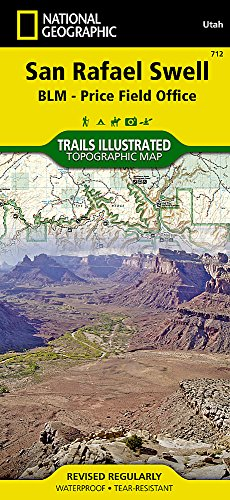 San Rafael Swell [BLM - Price Field Office] (National Geographic Trails Illustrated Map (712)) (Topo Maps Utah)