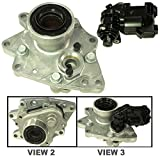 APDTY 711226 & 711214 Front Differential Axle Disconnect Intermediate Shaft Bearing Assembly w/New Bearing, Fork, Seals, & 4WD 4-Wheel Drive Actuator Fits 2002-2009 Trailblazer Envoy Bravada Ascender 9-7x (Replaces GM 15884292, 15200681)
