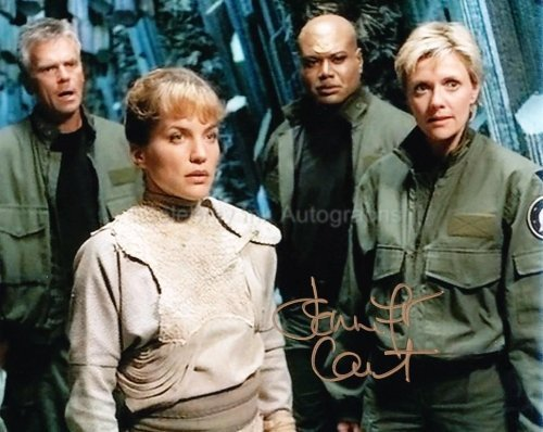 JENNIFER CALVERT as Ren'al - Stargate: SG-1 Genuine Autograph from Celebrity Ink