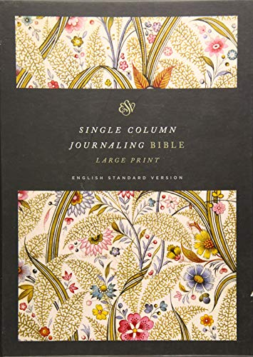 Single Column Journaling Bible: English Standard Version, Summer Garden