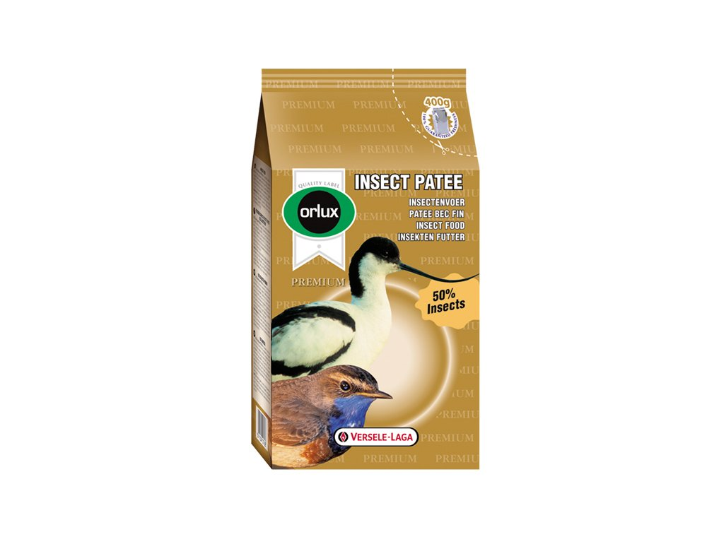 VERSELE LAGA Orlux-Insect Patee Premium Aliment Complet pour Oiseau 400 g Versele-Laga 20067
