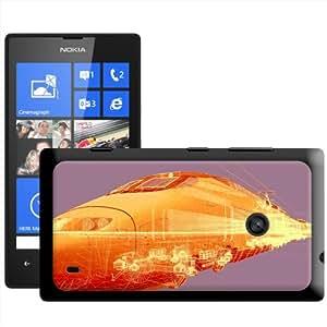 Fancy A Snuggle tren bala X Ray image' carcasa Rígida para Nokia Lumia 520