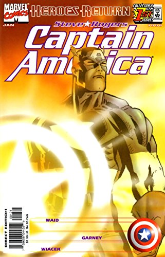 CAPTAIN AMERICA (1998) #1 NM SUNBURST RON GARNEY VARIANT COVER