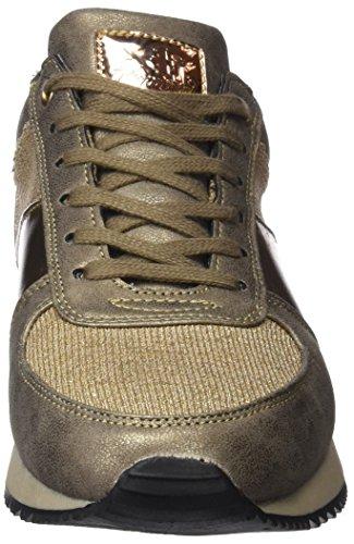 Femme Baskets bronce Xti Or Bronze 047302 Bronce FR7q7w