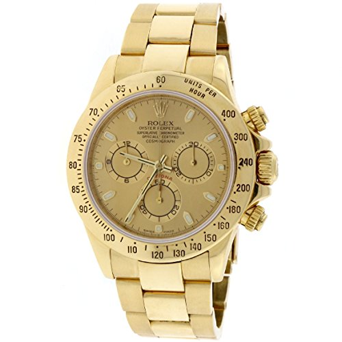 Rolex Daytona automatic-self-wind mens Watch 116528 (Certified Pre-owned)