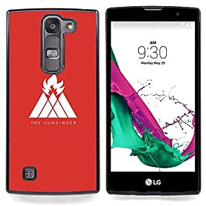 "El Sunsinger"" - Metal de aluminio y de plástico duro Caja del teléfono - Negro - LG Magna / G4C / H525N H522Y H520N H502F H500F (G4 MINI,NOT FOR LG G4)"