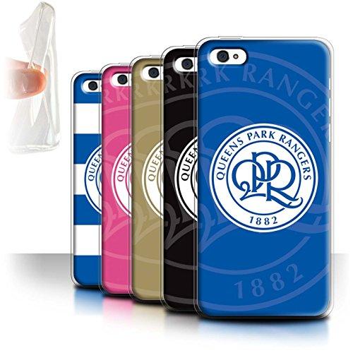 Officiel Queens Park Rangers FC Coque / Etui Gel TPU pour Apple iPhone 5C / Pack 11pcs Design / QPR Crête Club Football Collection