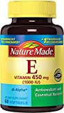 Cheap Nature Made Vitamin E 1000 IU (dl-Alpha) Softgels (Pack of 3)