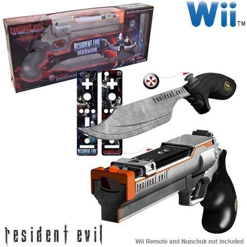 Wii Resident Evil Magnum and Knife - Nintendo Magnum Wii Gun