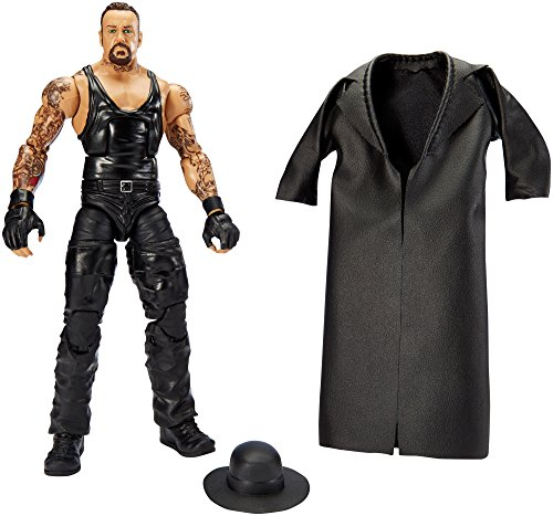 Price comparison product image Mattel DLG24 WWE Wrestlemania Series 32 Undertaker Figure, 10.5-Inch