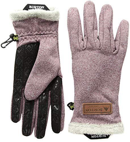Womens Glove Burton Snowboard (Burton Women's Sapphire Glove, Port Royal Heather, Medium)
