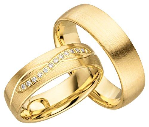 Partnerringe Mit Gravur 2 Stein Gold Verlobungsringe Und Jc008