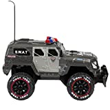 Best Choice Products 1:12 27Mhz Remote Control Police SWAT Truck RC Car W/ USB Charger