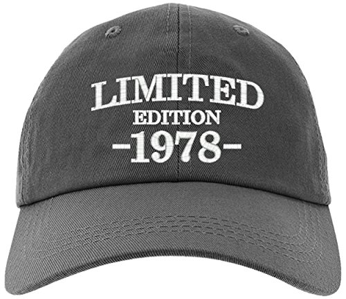 Cap 40th Birthday Gift, Limited Edition 1978 All Original Parts Baseball Hat