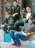 James Maslow - Kendall Schmidt - Logan Henderson - Carlos Pena - Big Time Rush - 11' x 8' Teen Magazine Poster Pinup - Nathan Kress Josh Dallas - Daren Kagasoff - Year 2012