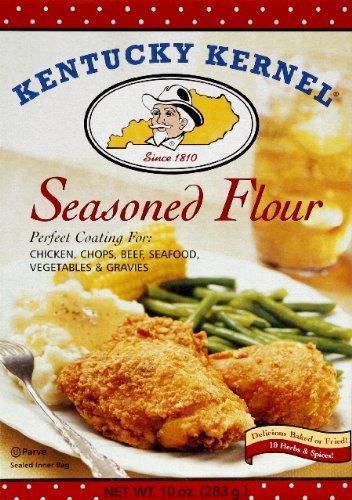 Kentucky Kernal Flour Seasoned, 10-OZ(Pack of 2)