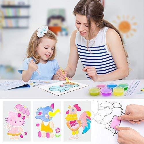 MOOHAM DIY Slime Kit Supplies - Clear Crystal Slime Making Kit for Girls, Floam Slime for Kids, Slime Foam Beads, Glitter , Fruit Slices and Fishbowl Beads Included by M MOOHAM (Image #5)