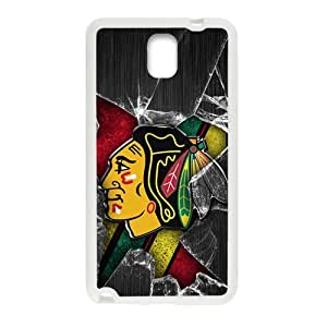 SKULL Chicago Blackhawks Cell Phone Case for Samsung Galaxy Note3