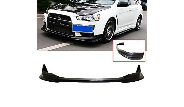 Fits 08-15 Mitsubishi Lancer Evolution X VR Style Front Bumper Lip
