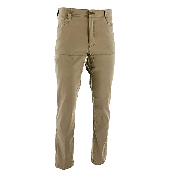 f57cd110 Amazon.com: Wrangler Outdoor Comfort Quick Dry Synthetic Straight Leg  Utility Pants, Morel: Sports & Outdoors