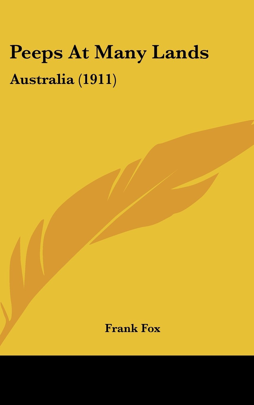 Download Peeps At Many Lands: Australia (1911) pdf