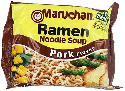 Maruchan Ramen, Pork, 3-Ounce Packages (Pack of ()