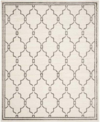 Koeckritz 8 x10 – Sage Brush – Indoor Outdoor Area Rug Carpet, Runners Stair Treads with a Premium Nylon Fabric Finished Edges.