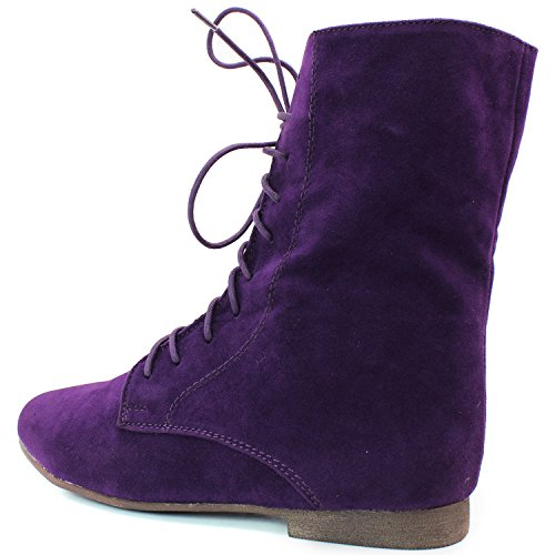 Womens Up Classique Plat Oxford Loafer Espadrilles Deux Way Wear Breckelles Sandy Collection Violet