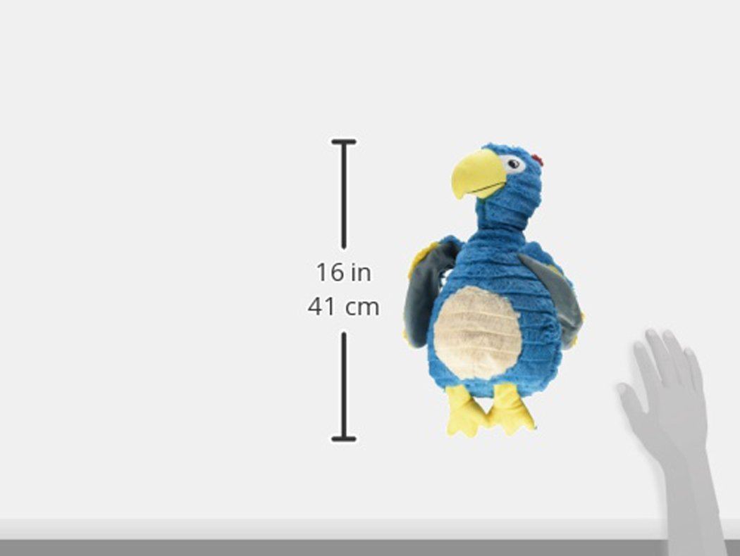 Patchwork Pet 01236 Feathered Friends Squeak Toys, 15-Inch, Dodo the Bird by Patchwork Pet (Image #2)