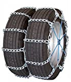 Quality Chain Road Blazer Mud Service 8mm Link Tire Chains (Dual/Triple) (4419HH)