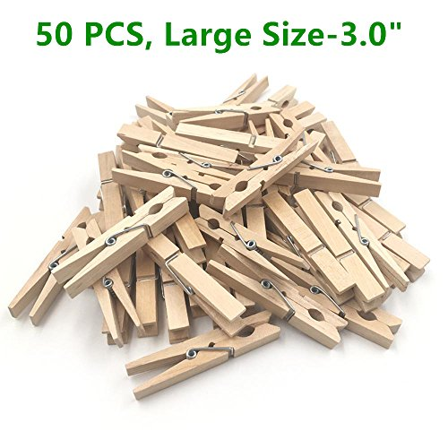 Clothespins, 50 pack