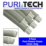 #7: 5 Pack PuriTech Universal Pool Cleaner Hose 48
