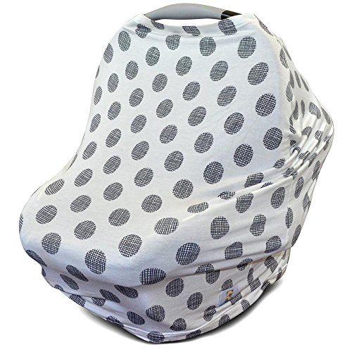 Stretchy Carseat Canopy Nursing Shopping