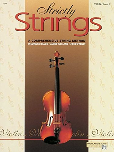 Strictly Strings, Bk 1: Violin