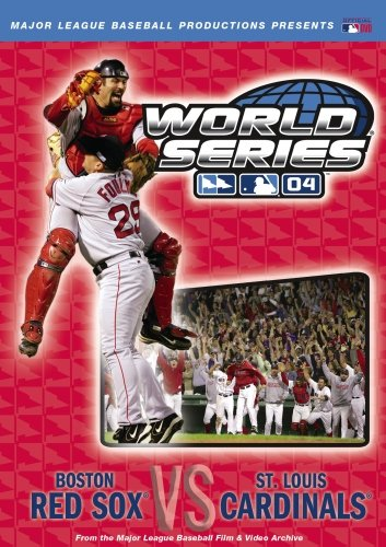 Official 2004 World Series - Red World Series 2004 Boston Sox