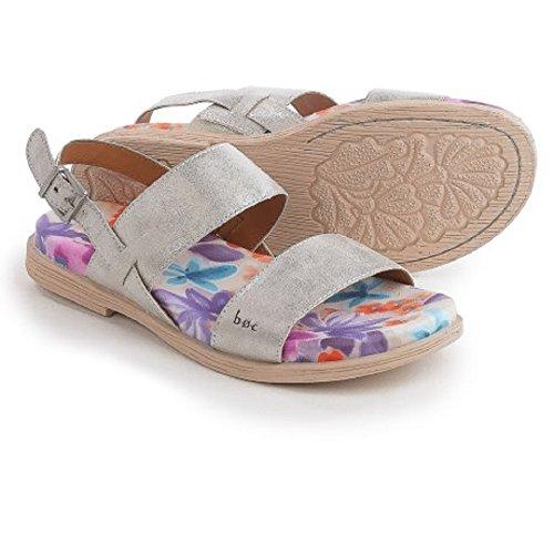B.O.C Nina Silver Vegan Leather Sandals (Size: 8)